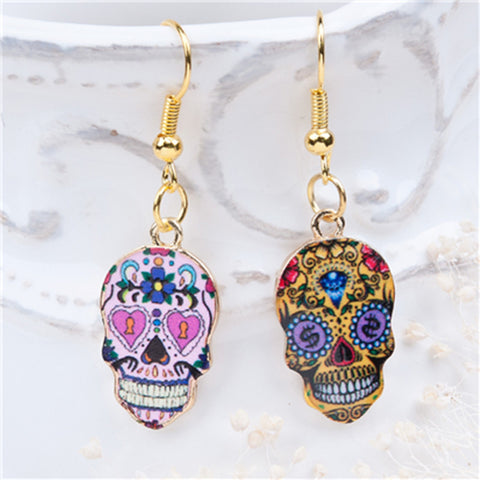 8SEASONS Sugar Skull Pattern-Algoma