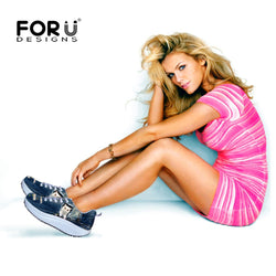 FORU DESIGNS Women's Toner Shoes-Algoma