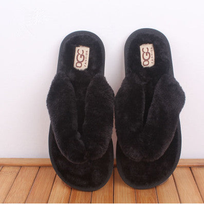 Home Cotton Plush Slippers Women/Young Adult-Algoma