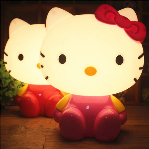 Cute Kitty Cartoon Night Light-Algoma
