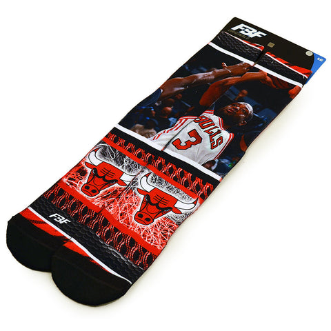 NBA Chicago Bulls Socks-Algoma