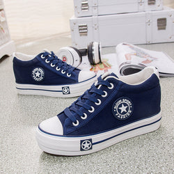Women Casual High Quality Canvas Shoes-Algoma
