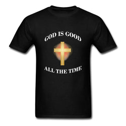 Men's T-Shirt God Is Good All the Time-Algoma