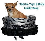 Mirage Reversible Snuggle Bugs Pet Bed, Bag, and Car Seat in One