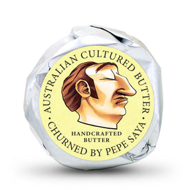 Pepe Saya Wrapped Cultured Butter Portions 6(75x25g)
