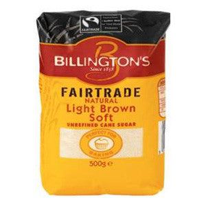 Billington's Light Brown Fairtrade 10x500g