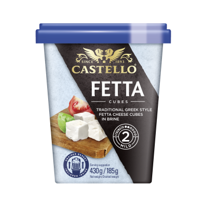 Castello Traditional Fetta Cubes in Brine 6x185g