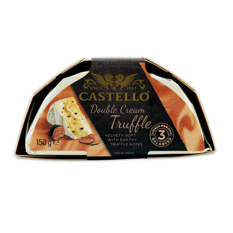 Castello Double Cream Truffle 6x150g