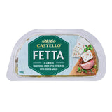 Castello Fetta Cubes in Oil with Herbs and Garlic 10x100g