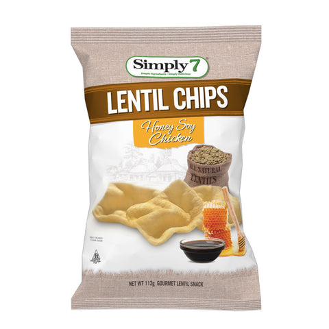 Simply 7 Lentil Honey Soy Chicken 4x113g