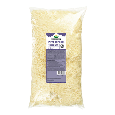 Arla Professional Pizza Topping Shred 6 x 2kg - Sold by kg