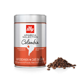 Illy Arabica Selection Colombia Coffee Beans 6x250g