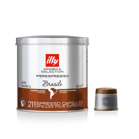 Illy Arabica Selection Brasile Capsules 21pcs 6x140g