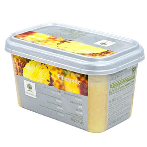 Ravifruit Frozen Fruit Puree Pineapple 5x1kg Tub