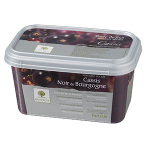Ravifruit Frozen Fruit Puree Blackcurrant 5x1kg Tub