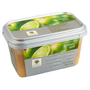 Ravifruit Frozen Fruit Puree Lime 5x1kg Tub