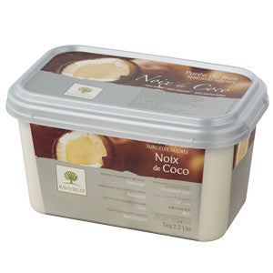 Ravifruit Frozen Fruit Puree Coconut 5x1kg Tub