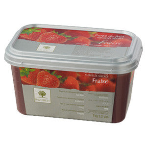 Ravifruit Frozen Fruit Puree Wild Strawberry 5x1kg Tub