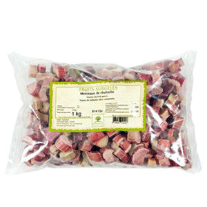 Ravifruit Individually Quick Frozen Rhubarb Pieces 5x1kg Bag