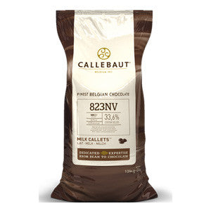 Callebaut Milk Couverture Callets 33.6% 2x10kg Bag