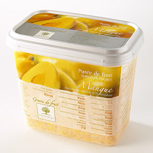 Ravifruit Frozen Fruit Puree Mango 2x5kg Tub