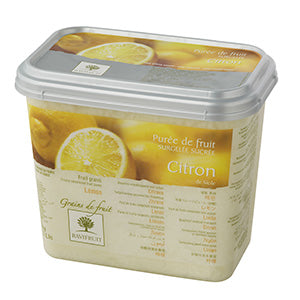 Ravifruit Frozen Fruit Puree Lemon 10% 2x5kg Tub