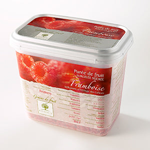 Ravifruit Frozen Fruit Puree Raspberry 2x5kg Tub
