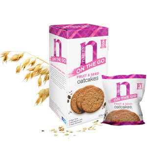 Nairn's Fruit and Seed Oatcake 'On the Go' 8x225g