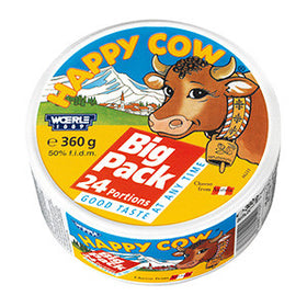 Happy Cow Cheese (18x360g)
