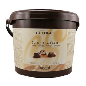 Callebaut Neutral Base Crème (Truffle Filling) 2x5kg Bucket