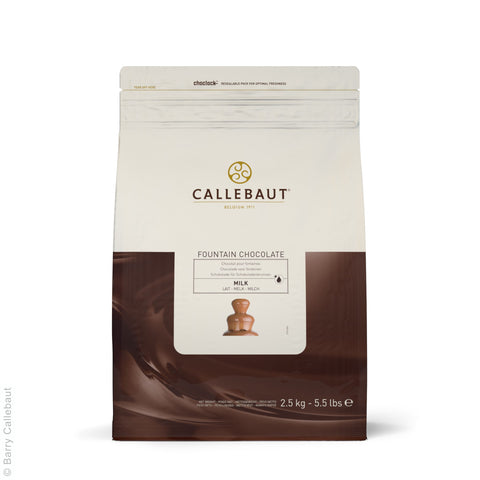 Callebaut Milk Fountain Chocolate 8x2.5kg