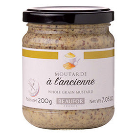 Beaufor Mustard Wholegrain 12x200g