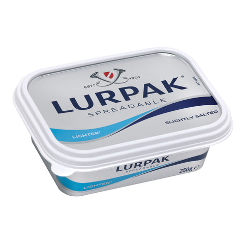 Lurpak Butter Light Spreadable 12x250g