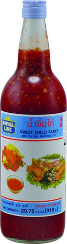 Royal Line Chilli Sweet Bottle (12x910g)