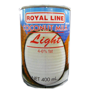Royal Line Coconut Milk Light 24x400ml