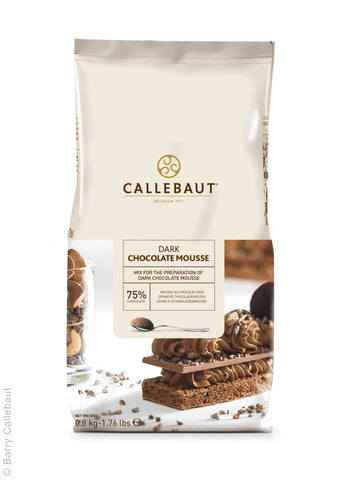 Callebaut Real Dark Chocolate Mousse Powder 10x800g Bag