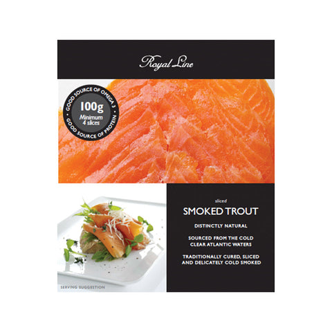 Royal Line Smoked Ocean Trout 6x12x100g