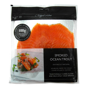 Royal Line Ocean Trout Smoked (12x100g)