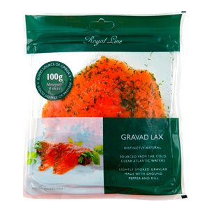 Royal Line Gravad Lax Salmon (6x12x100g)