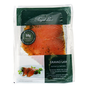 Royal Line Gravad Lax 6x12x50g