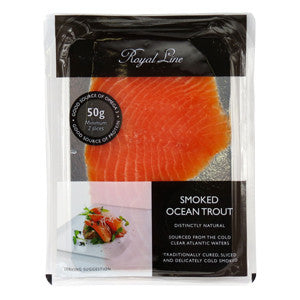 Royal Line Smoked Trout 6x12x50g