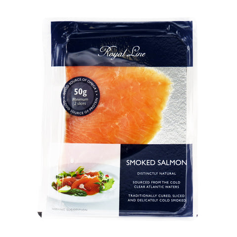 Royal Line Smoked Salmon 12x12x50g