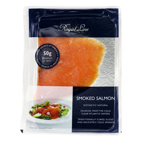 Royal Line Salmon Smoked (12x12x50g)
