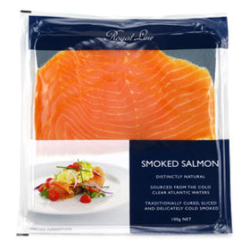 Royal Line Salmon Smoked (6x12x100g)