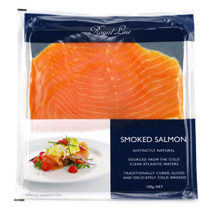 Royal Line Salmon Smoked 6x12x100g