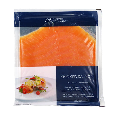 Royal Line Smoked Salmon 6x6x200g