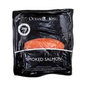 Ocean King Smoked Salmon 10x200g