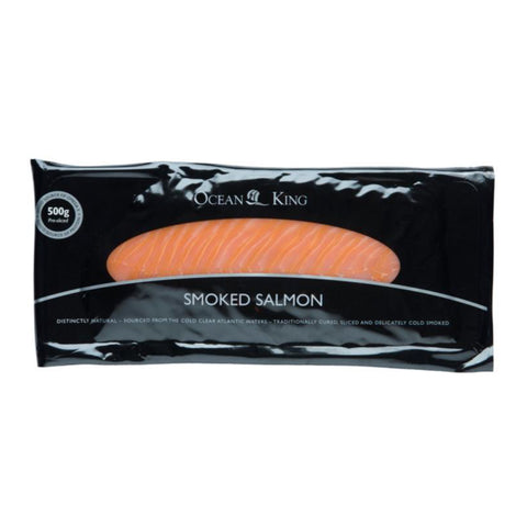 Ocean King Smoked Salmon 8x500g