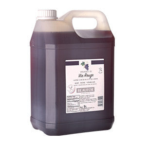 Beaufor Vinegar Red Wine (2x5L) - French