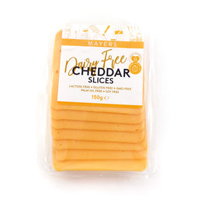 Mayers Vegan Cheddar Sliced 12x150g